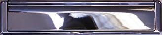 hardex bright chrome premium letterbox