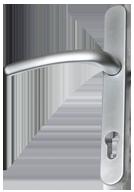 brushed-chrome-door-handle