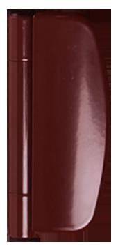 brown door hinge