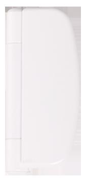 white door hinge