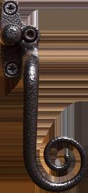 elegance-black-monkey-tail-handle