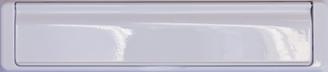 white premium letterbox