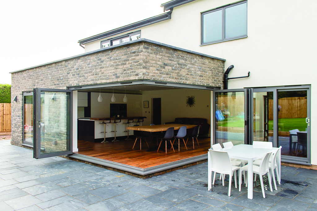 Cornerless Bi Folding Doors Windows Doors