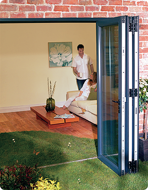 imagine multi-folding doors fit flush against the sides