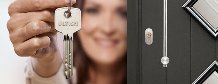 ultion one key locking system