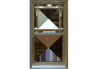 Timber Vertical Sliding Windows Slide and Tilt