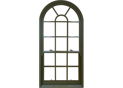 Timber Vertical Sliding Windows Spiral Balance