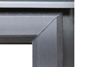 Concealed Trickle Vent Cover on a Choices Window