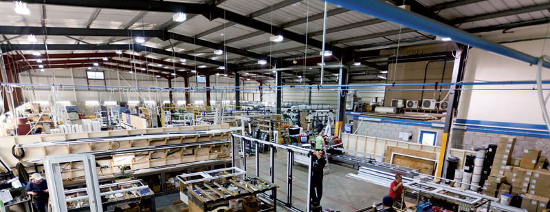 Image of CWG Choices Corby's Specialist products factory in Corby