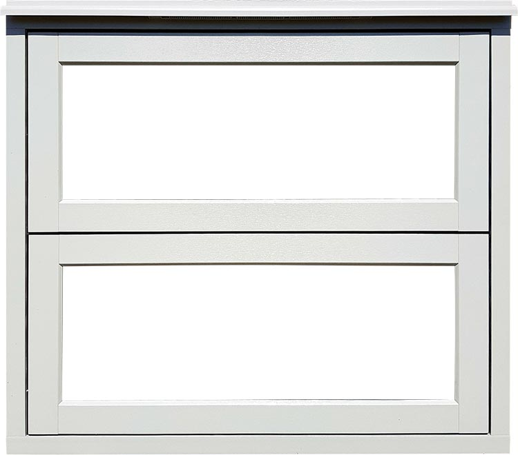Flush 70 Window with floating Transom