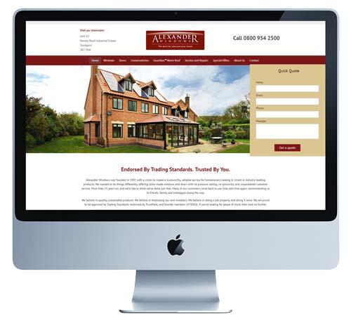 Alexander Windows Retail Site