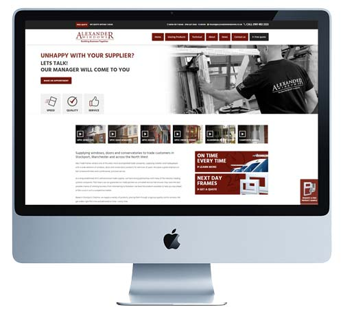 Alexander Windows Trade Site