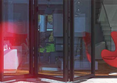 choices-aluminium bi-folding luminia doors