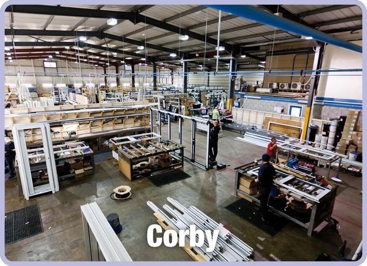 CWG Corby Showroom
