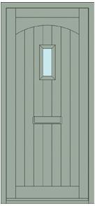 Arran 1 Door Design