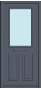 Iona 1 Door Design