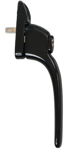 black standard handle