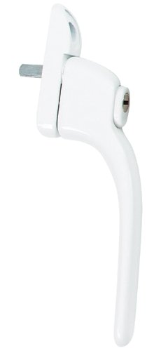 white standard handle