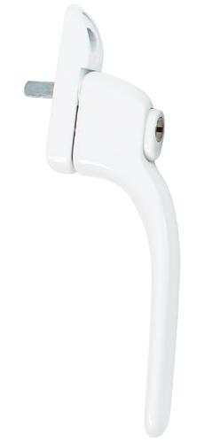 white standard handle