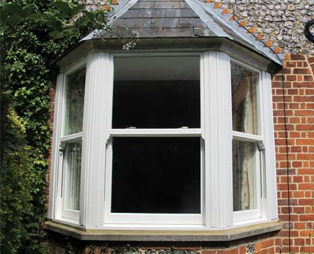 White Vertical Sliding Sash Windows
