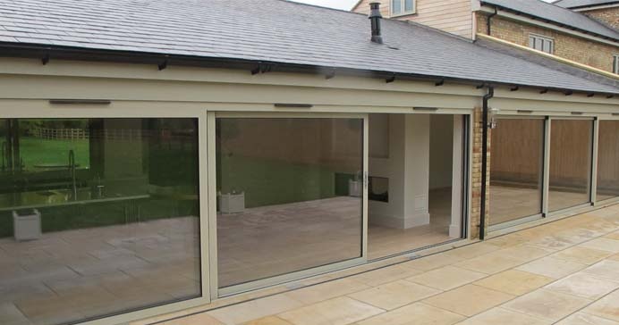 Aluminium Patio Sliding Doors from CWG Choices