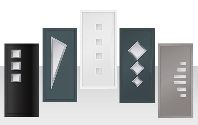 summit aluminium designer door