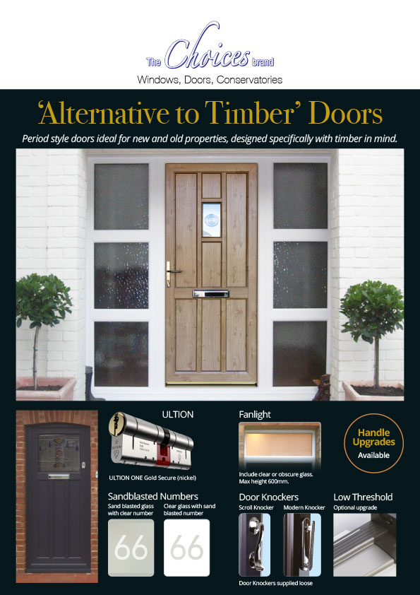 Alternative to Timber Doors