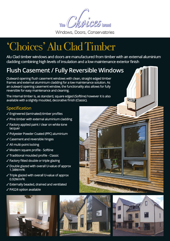 Choices Alu Clad Timber