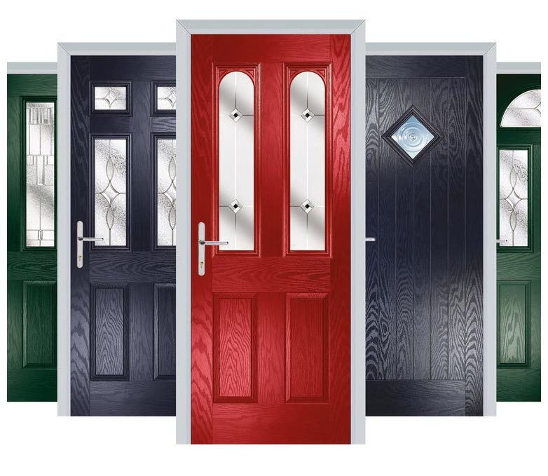 Image showing various styles of residor doors