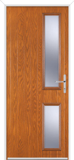 Golden Oak Normanton 2 Fire Door Design