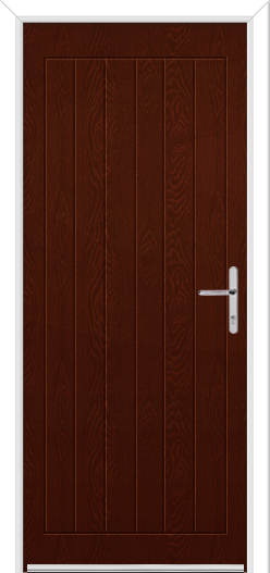 Silver Grey Wellow 3 Fire Door Design