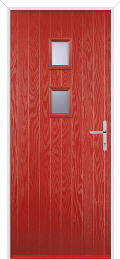 Red Wellow 2 Fire Door Design