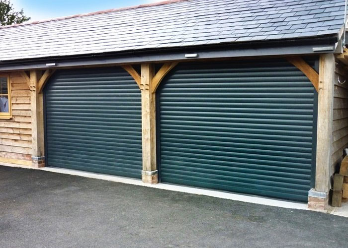 Choices SecureRoll Double Garage Doors