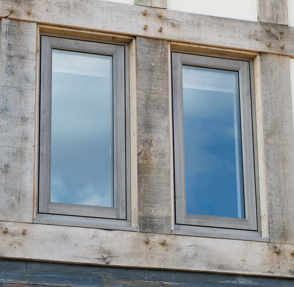 Residence2 windows in a period building