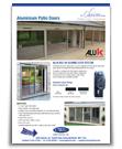 Aluminium Patio Sliding Doors